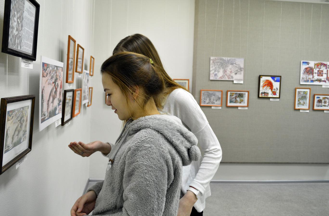 Поздравление на открытие персональной выставки