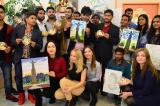 Индийские студенты приняли участие в творческом конкурсе «Мост дружбы: Индия - Чувашия»